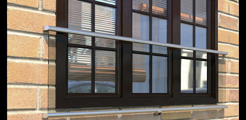 Balkon zredukowany do minimum - 3 powody, dla których warto wybrać balustradę francuską.