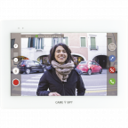 Bezsłuchawkowy zestaw wideodomofonowy CAME XTS 7 WiFi z panelem LITHOS