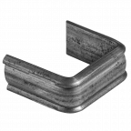 Zakuwka stalowa kuta 14x3, 24x12 mm