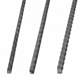 Pręt stalowy kuty fakturowany 12x12 mm L3000 mm