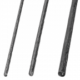 Pręt stalowy kuty korowany fi 16 mm L3000 mm