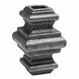 Przekuwka stalowa kuta 12,5 mm H65 x L38 mm
