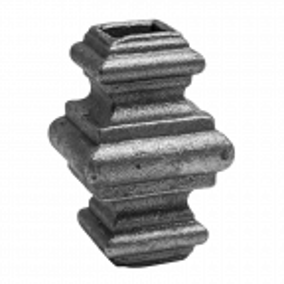 Przekuwka stalowa kuta14.5 mm H65 x L38 mm
