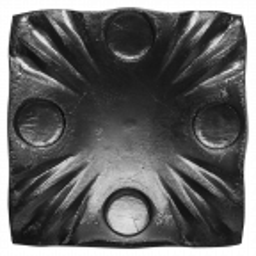 Maskownica stalowa kuta H60 x L60 x 4 mm