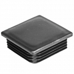Zaślepka plastikowa do profilu kwadratowego 80x80 mm, antracyt RAL 7016