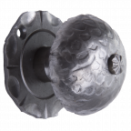 Gałka kuta do bramy lub furtki H70xL60 mm
