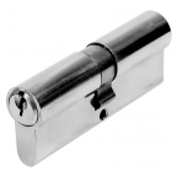 Wkładka do zamka niklowana 35/35 mm