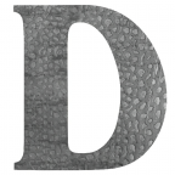 "Litera na dom ""D"" H170 mm"