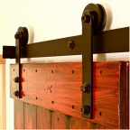System drzwi przesuwnych typu BARNDOOR, wzór Prosty - bez drzwi