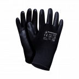 Czarne rękawice ochronne Guretan Set B w rozmiarze 9