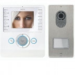 Bezsłuchawkowy zestaw videodomofonowy PERLA / LVKITPEC04