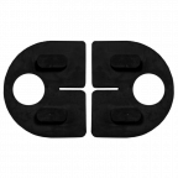 Guma dociskowa 8,76 mm do uchwytu do szkła 50D1