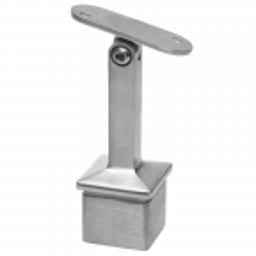 Podpora poręczy przegubowa, do wklejenia na słupku 40x40 mm,stal nierdzewna, satyna