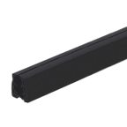 Guma dociskowa 15mm dla pochwytu nakładanego, długość 2.5m/szt