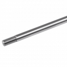 Odciąg do daszku szklanego 2m, fi 12mm, gwint M12, stal nierdzewna, satyna