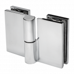 Zawias do kabin prysznicowych H65 szkło-szkło z podnoszoną osią prawy