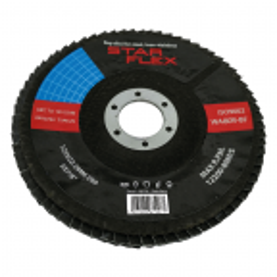 Tarcza listkowa do szlifowania T29 125-22 granulacja 80, INOX
