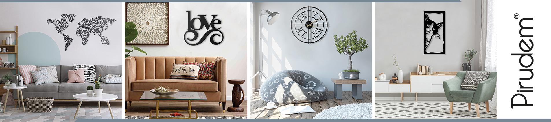 Metalowe dekoracje, ozdoby, zegary do kupienia w sklepie internetowym bonmario.com